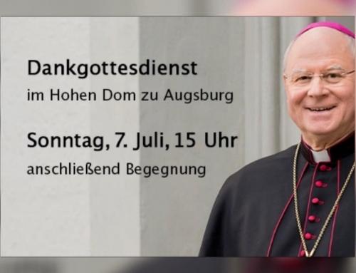 Dank an Bischof Konrad für seinen Dienst