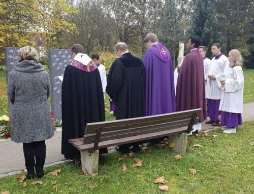 Waldfriedhof feierlich gesegnet