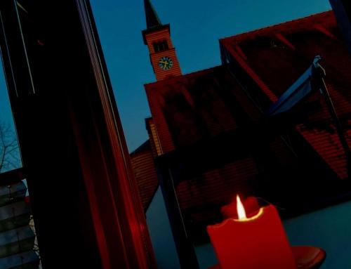 Lasst uns beten: täglich 19.30 Uhr