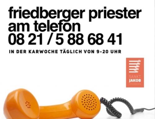 Priester am Telefon
