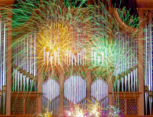 Jahresschluss mit Orgelfeuerwerk 2020