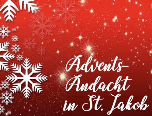 Adventsandacht mit Albert Kling