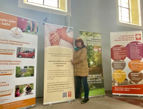 Ausstellung zur Palliativ-Begleitung eröffnet