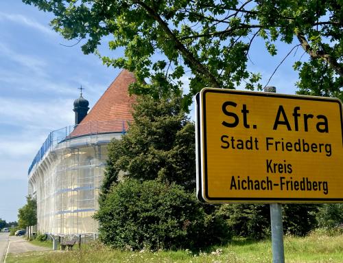 St. Afra im Felde wird saniert